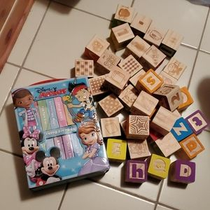 Disney junior board books and blocks